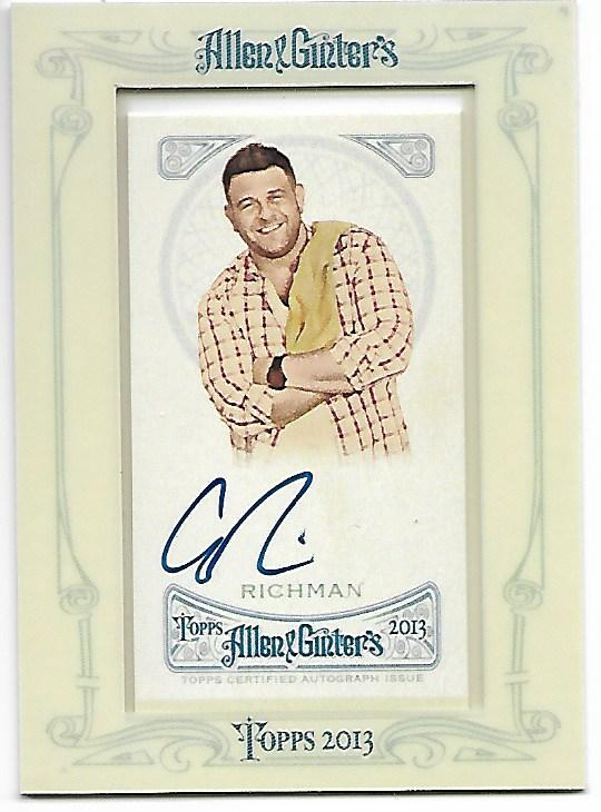 2013 Topps Allen and Ginter Autographs #AR Adam Richman