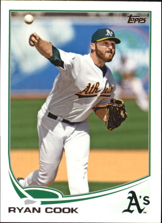 2013 Topps Mini #48 Ryan Cook