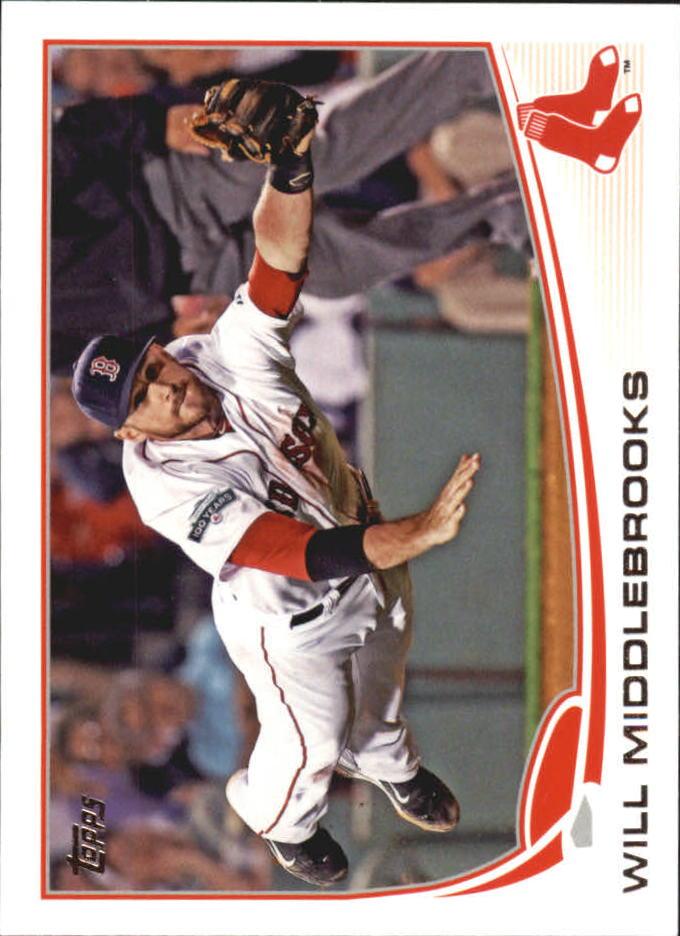 2013 Topps Mini #64 Will Middlebrooks