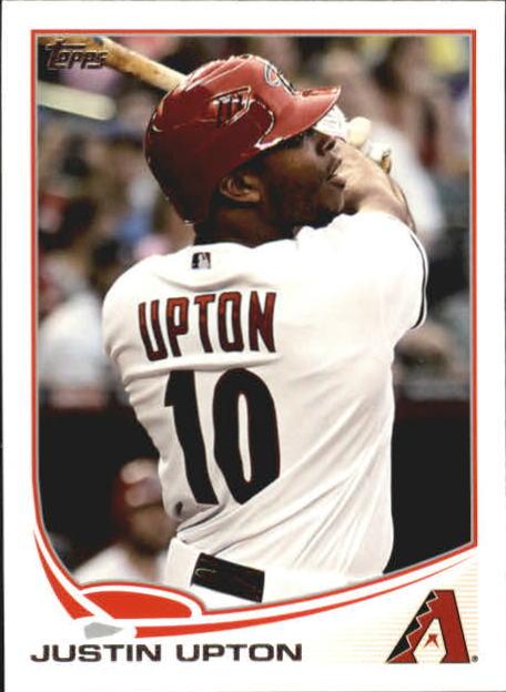 2013 Topps Mini #110 Justin Upton
