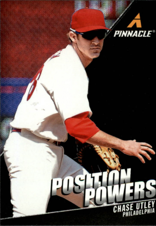 2013 Pinnacle Position Powers #4 Chase Utley