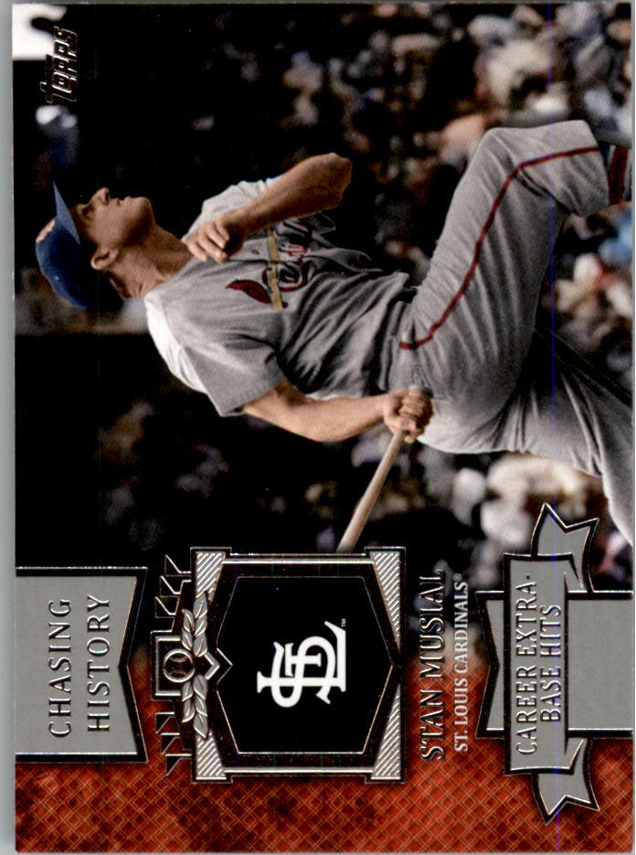 2013 Topps Mini Chasing History #MCH18 Stan Musial