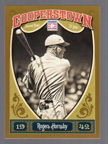 2013 Panini Cooperstown #6 Rogers Hornsby