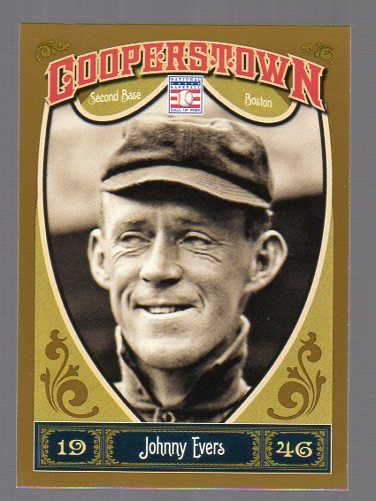2013 Panini Cooperstown #9 Johnny Evers