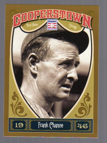 2013 Panini Cooperstown #10 Frank Chance