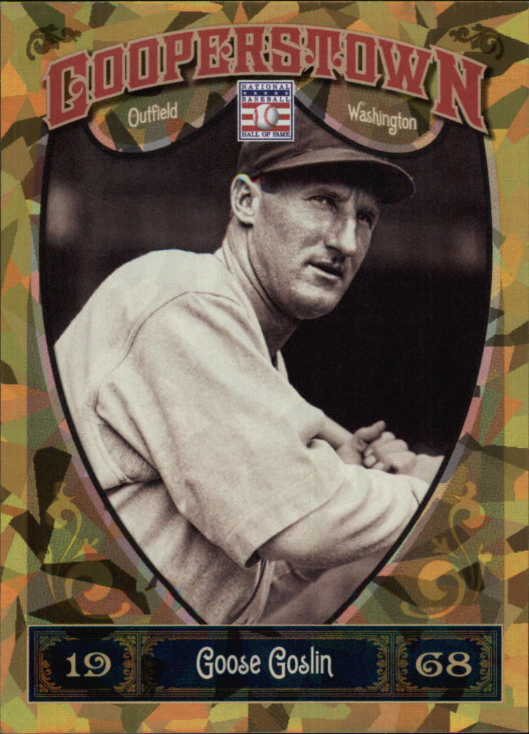 2013 Panini Cooperstown Gold Crystal #24 Goose Goslin