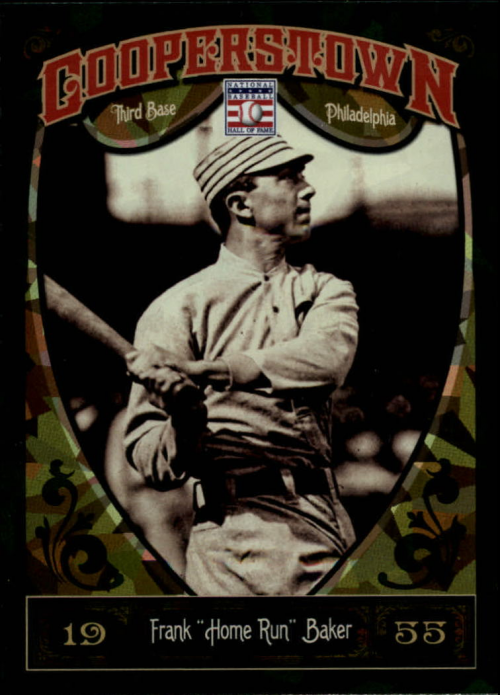 2013 Panini Cooperstown Green Crystal #12 Frank Baker