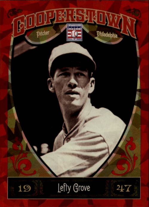 2013 Panini Cooperstown Red Crystal #25 Lefty Grove