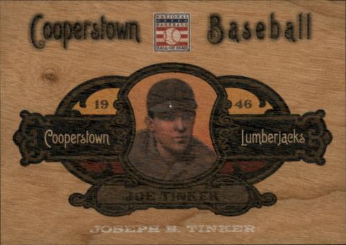 2013 Panini Cooperstown Lumberjacks #11 Joe Tinker