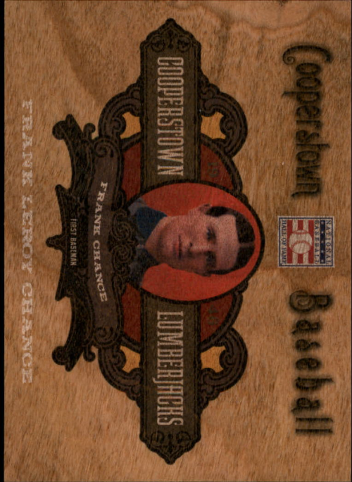 2013 Panini Cooperstown Lumberjacks #13 Frank Chance
