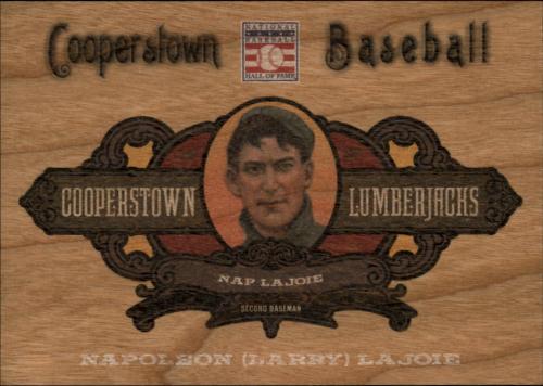 2013 Panini Cooperstown Lumberjacks #19 Nap Lajoie
