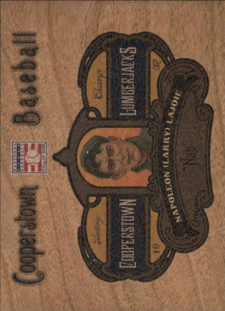 2013 Panini Cooperstown Lumberjacks #21 Nap Lajoie
