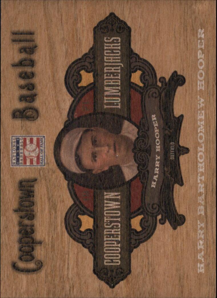 2013 Panini Cooperstown Lumberjacks #25 Harry Hooper