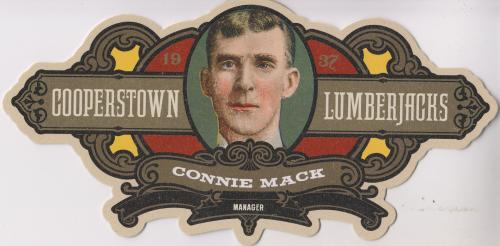 2013 Panini Cooperstown Lumberjacks Die Cut #18 Connie Mack