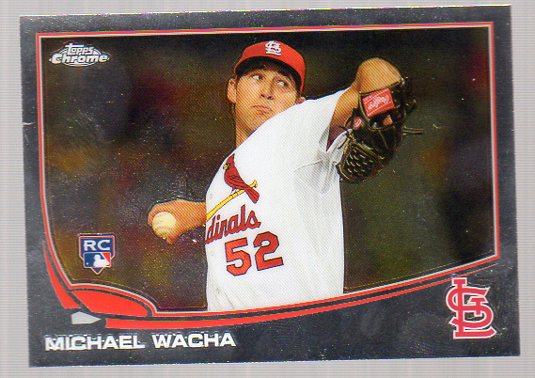 2013 Topps Chrome #119 Michael Wacha RC