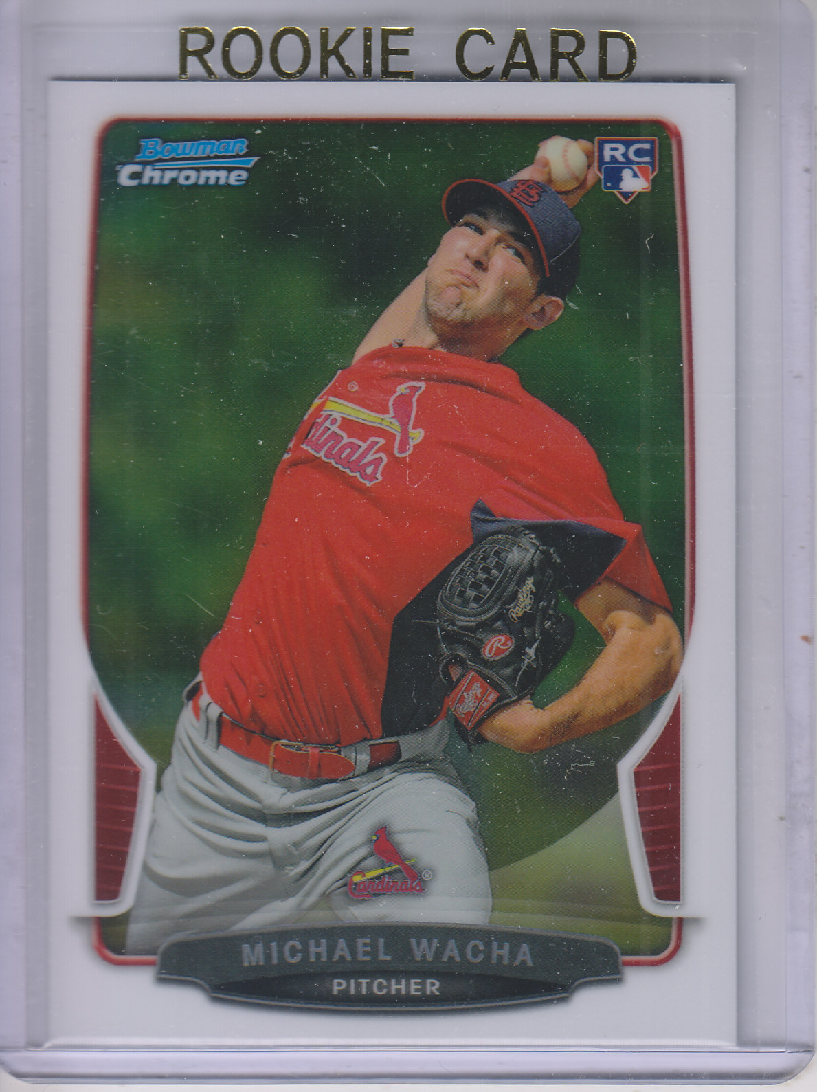 2013 Bowman Chrome #121 Michael Wacha RC