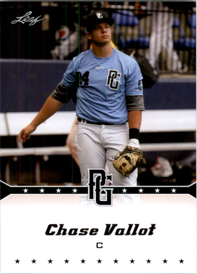 2013 Leaf Perfect Game #220 Chase Vallot