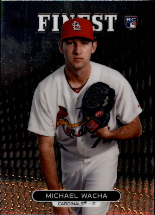 2013 Finest #3 Michael Wacha RC