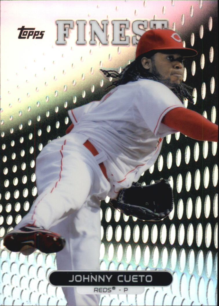 2013 Finest Refractors #18 Johnny Cueto