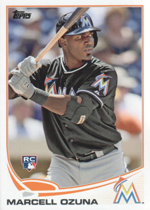 2013 Topps Update #US279 Marcell Ozuna RC