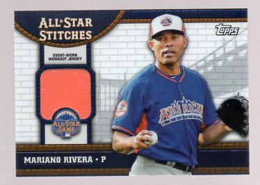 2013 Topps Update All Star Stitches #MR Mariano Rivera