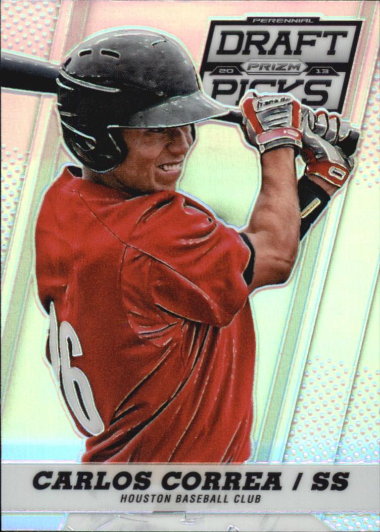 2013 Panini Prizm Perennial Draft Picks Prizms #11 Carlos Correa