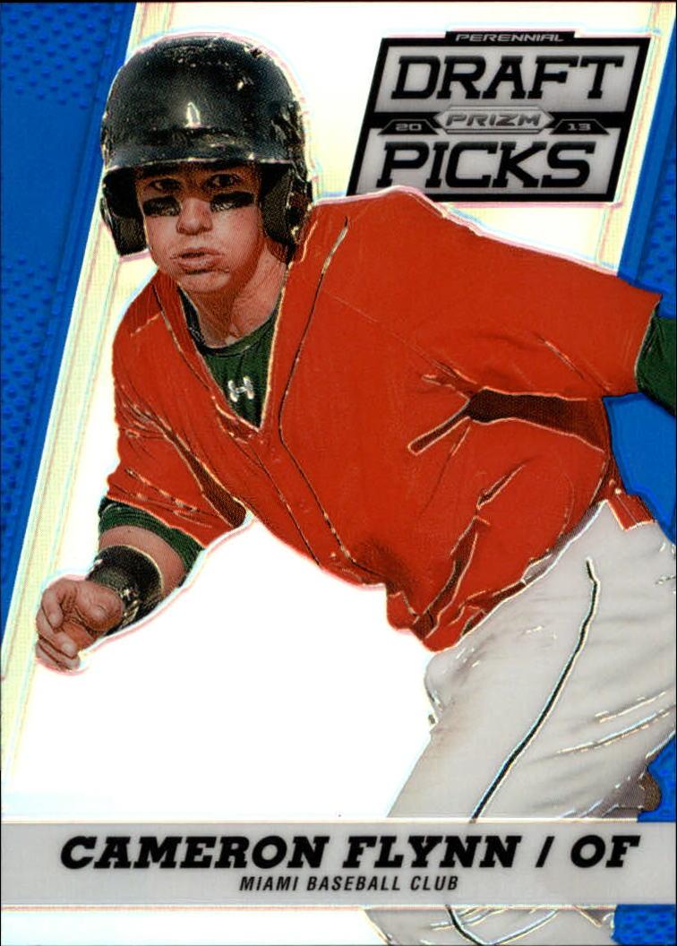 2013 Panini Prizm Perennial Draft Picks Blue Prizms #9 Cameron Flynn
