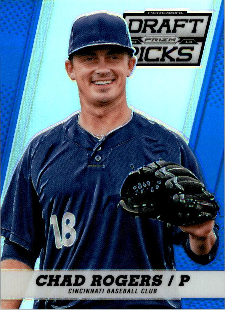 2013 Panini Prizm Perennial Draft Picks Blue Prizms #12 Chad Rogers
