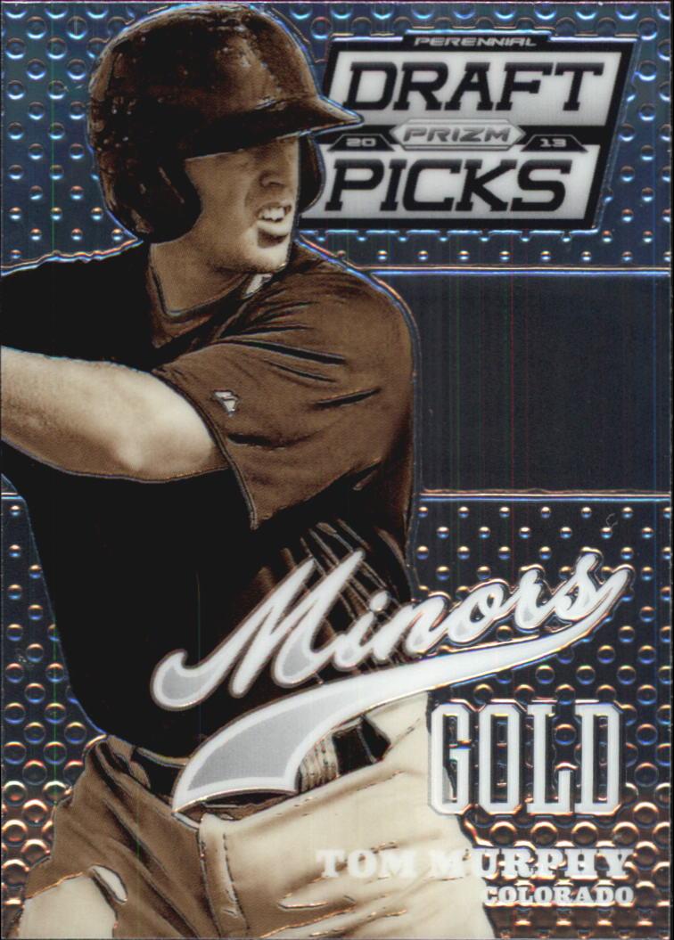 2013 Panini Prizm Perennial Draft Picks Minors #12 Tom Murphy