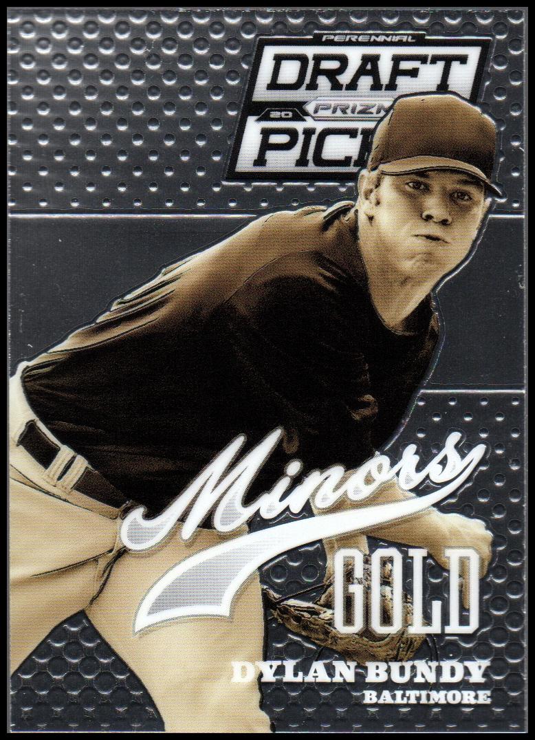 2013 Panini Prizm Perennial Draft Picks Minors #17 Dylan Bundy