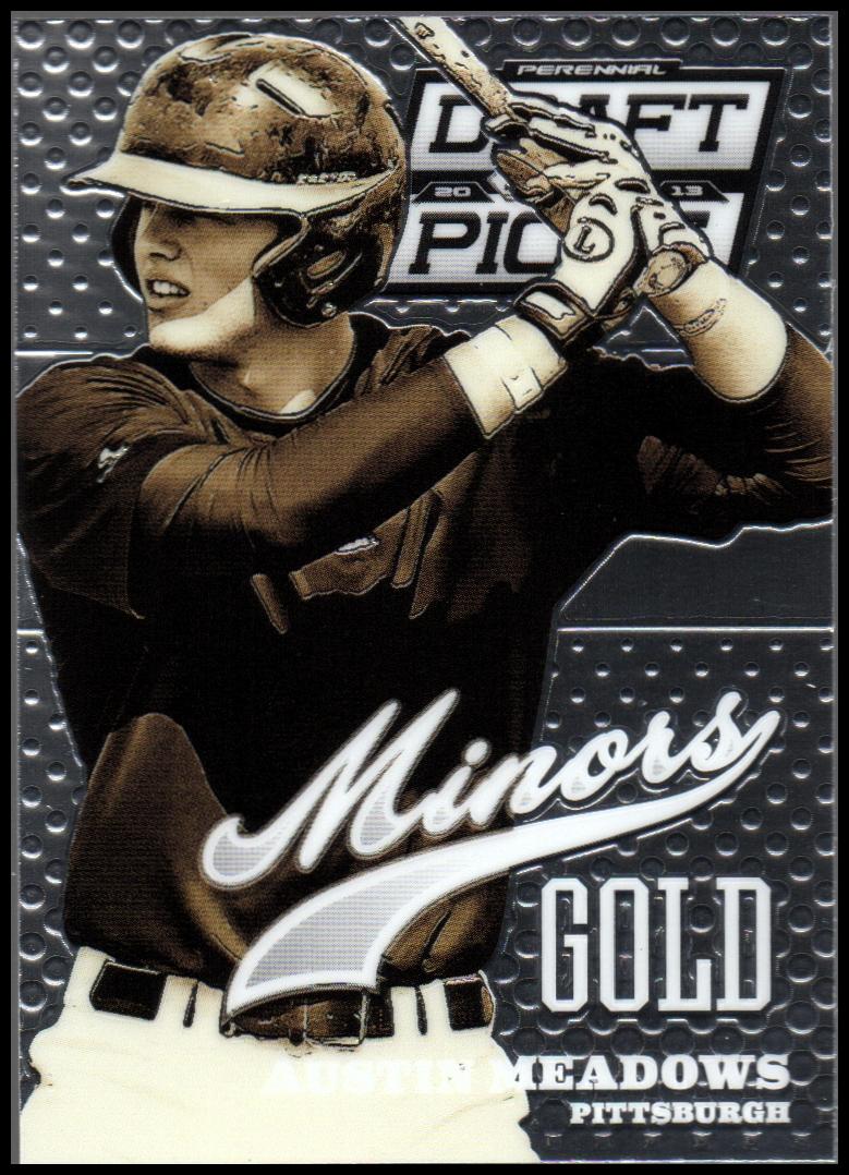 2013 Panini Prizm Perennial Draft Picks Minors #19 Austin Meadows