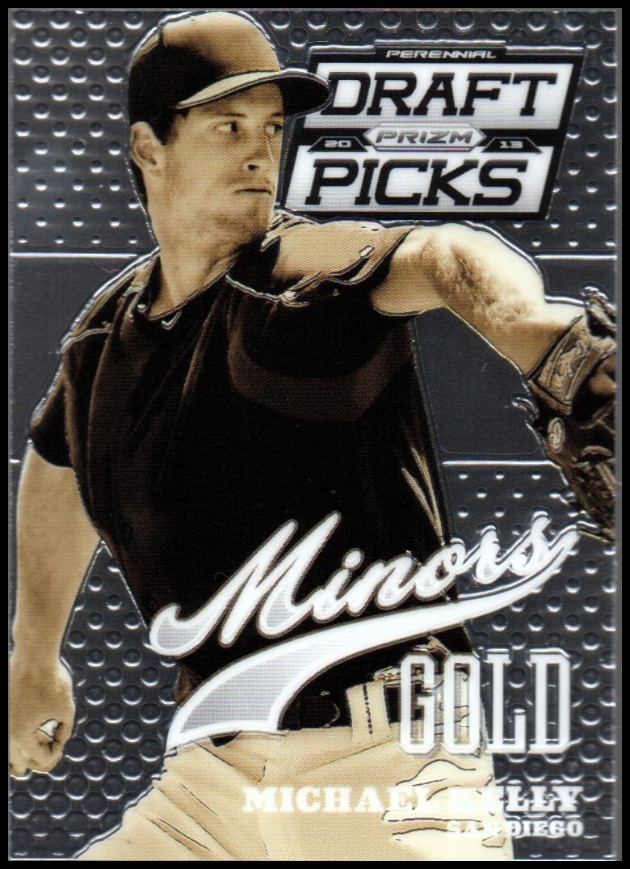 2013 Panini Prizm Perennial Draft Picks Minors #20 Michael Kelly