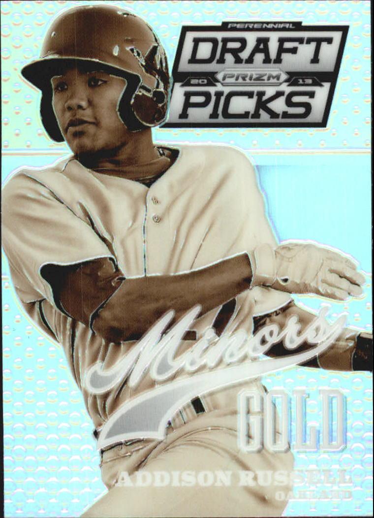 2013 Panini Prizm Perennial Draft Picks Minors Prizms #9 Addison Russell