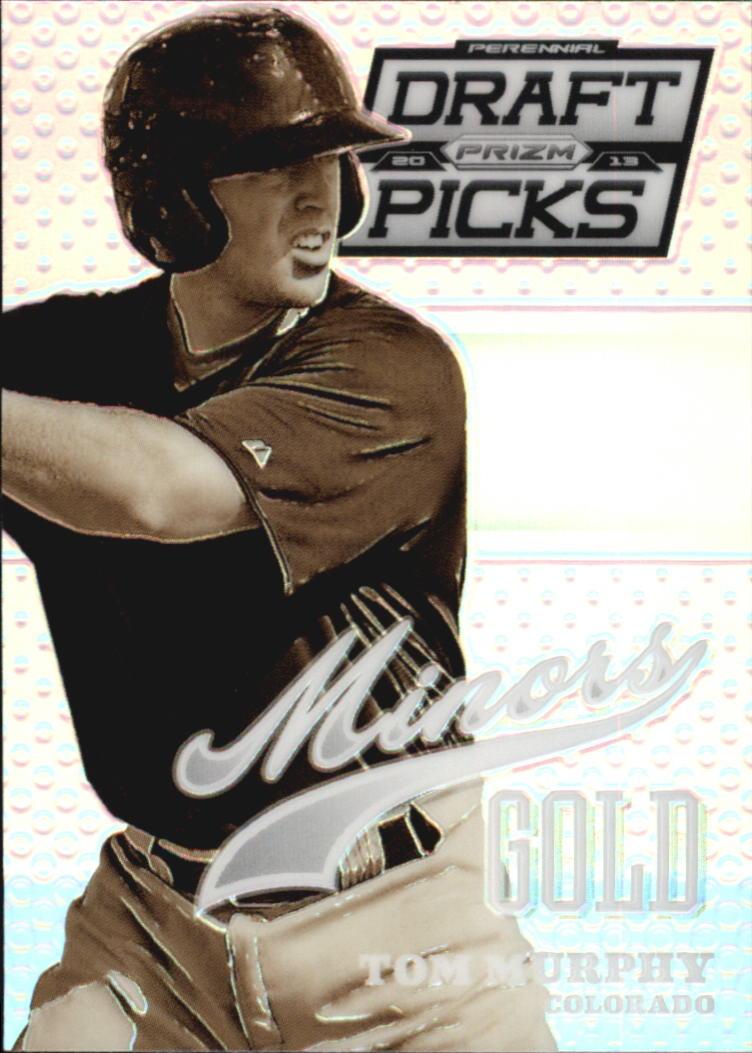 2013 Panini Prizm Perennial Draft Picks Minors Prizms #12 Tom Murphy