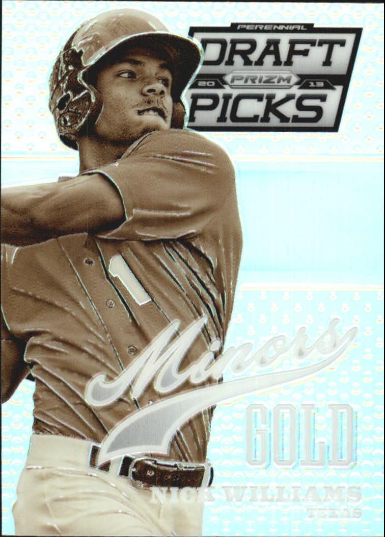 2013 Panini Prizm Perennial Draft Picks Minors Prizms #13 Nick Williams