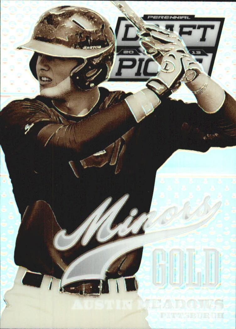 2013 Panini Prizm Perennial Draft Picks Minors Prizms #19 Austin Meadows