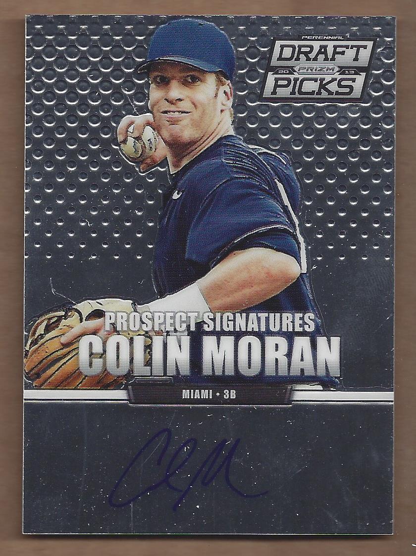 2013 Panini Prizm Perennial Draft Picks Prospect Signatures #5 Colin Moran