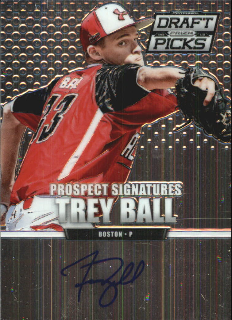 2013 Panini Prizm Perennial Draft Picks Prospect Signatures #7 Trey Ball