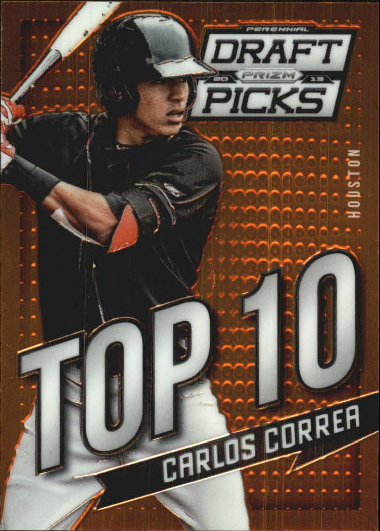 2013 Panini Prizm Perennial Draft Picks Top 10 #1 Carlos Correa