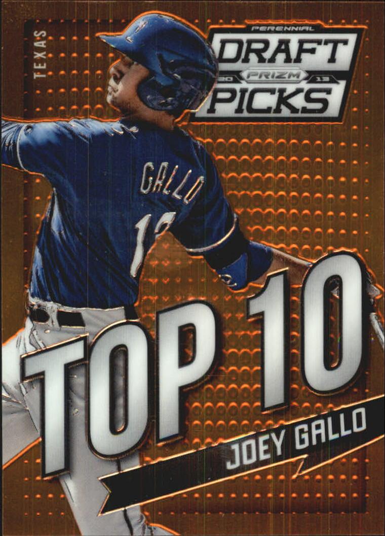 2013 Panini Prizm Perennial Draft Picks Top 10 #9 Joey Gallo