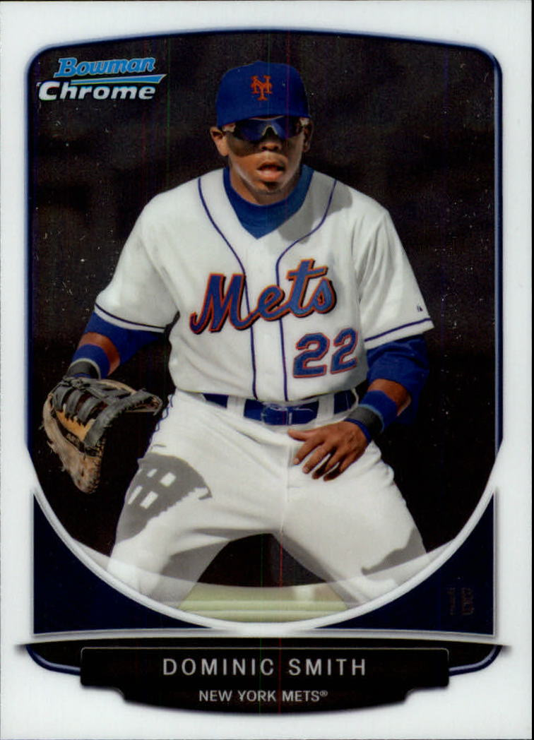 2013 Bowman Chrome Draft Draft Picks #BDPP1 Dominic Smith