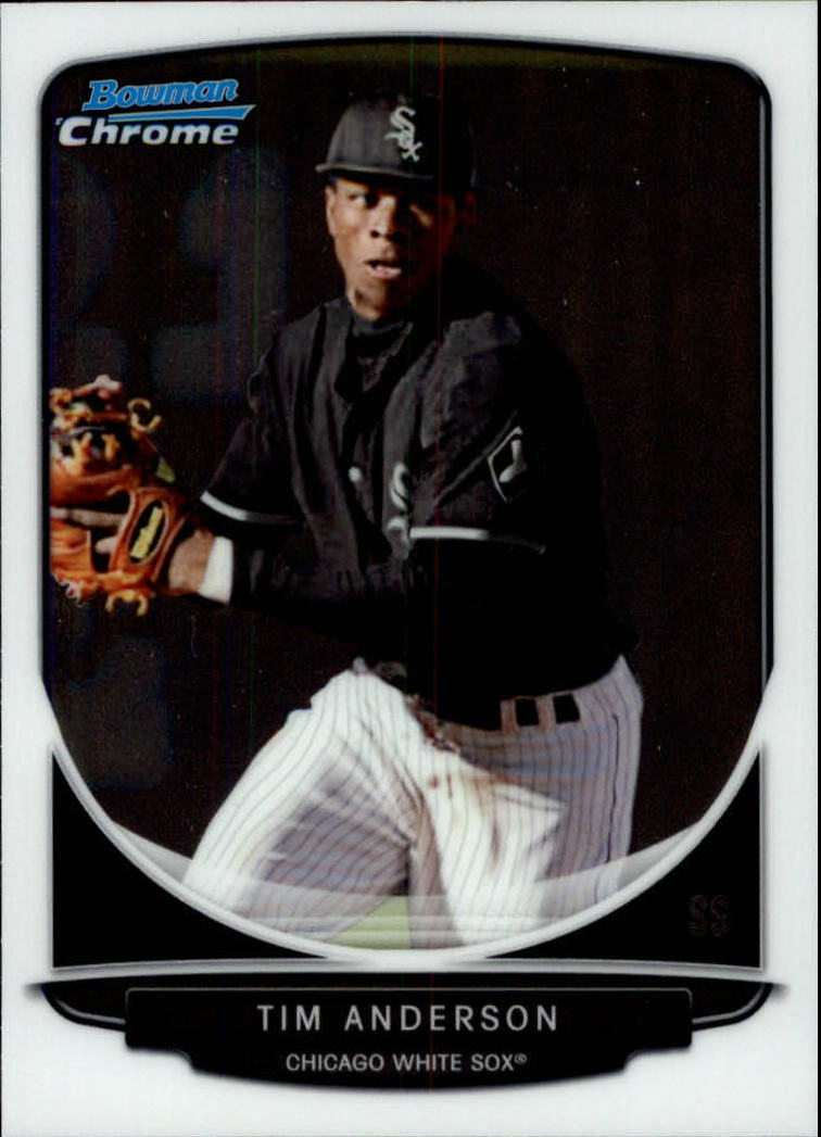 2013 Bowman Chrome Draft Draft Picks #BDPP13 Tim Anderson