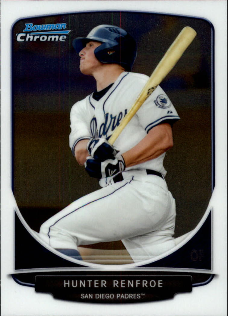 2013 Bowman Chrome Draft Draft Picks #BDPP16 Hunter Renfroe