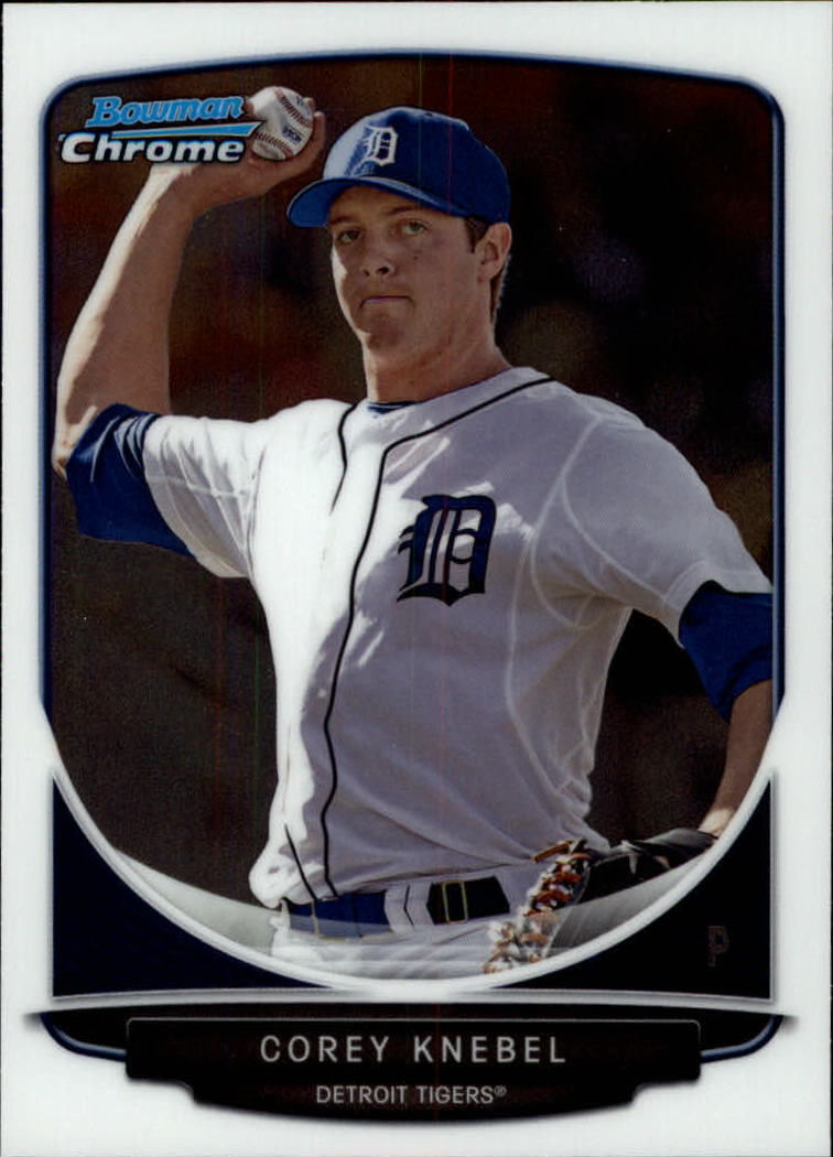 2013 Bowman Chrome Draft Draft Picks #BDPP18 Corey Knebel