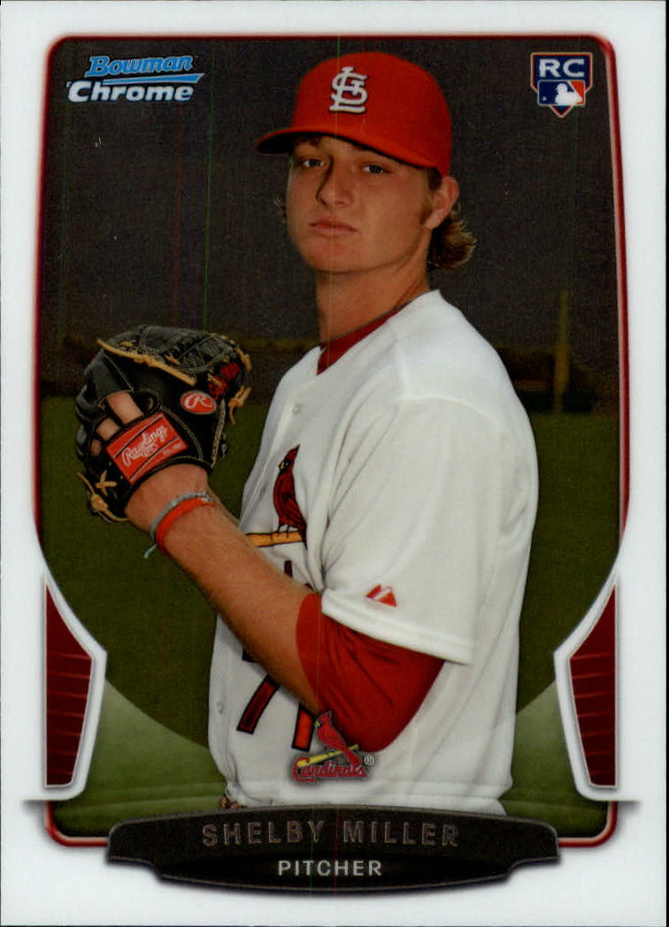 2013 Bowman Chrome Draft #32 Shelby Miller RC