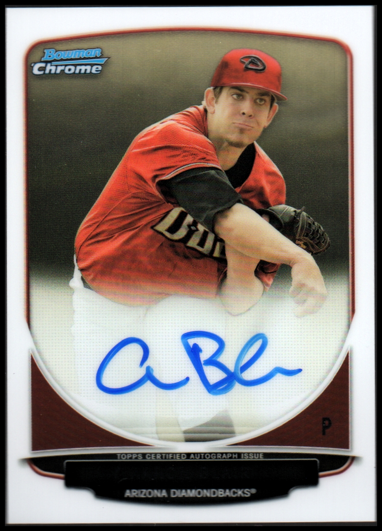 2013 Bowman Chrome Draft Draft Pick Autographs #AB Aaron Blair