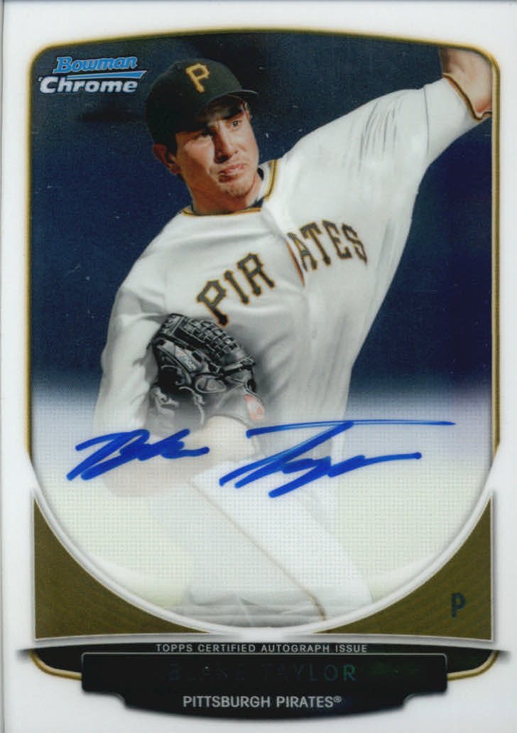 2013 Bowman Chrome Draft Draft Pick Autographs #BT Blake Taylor