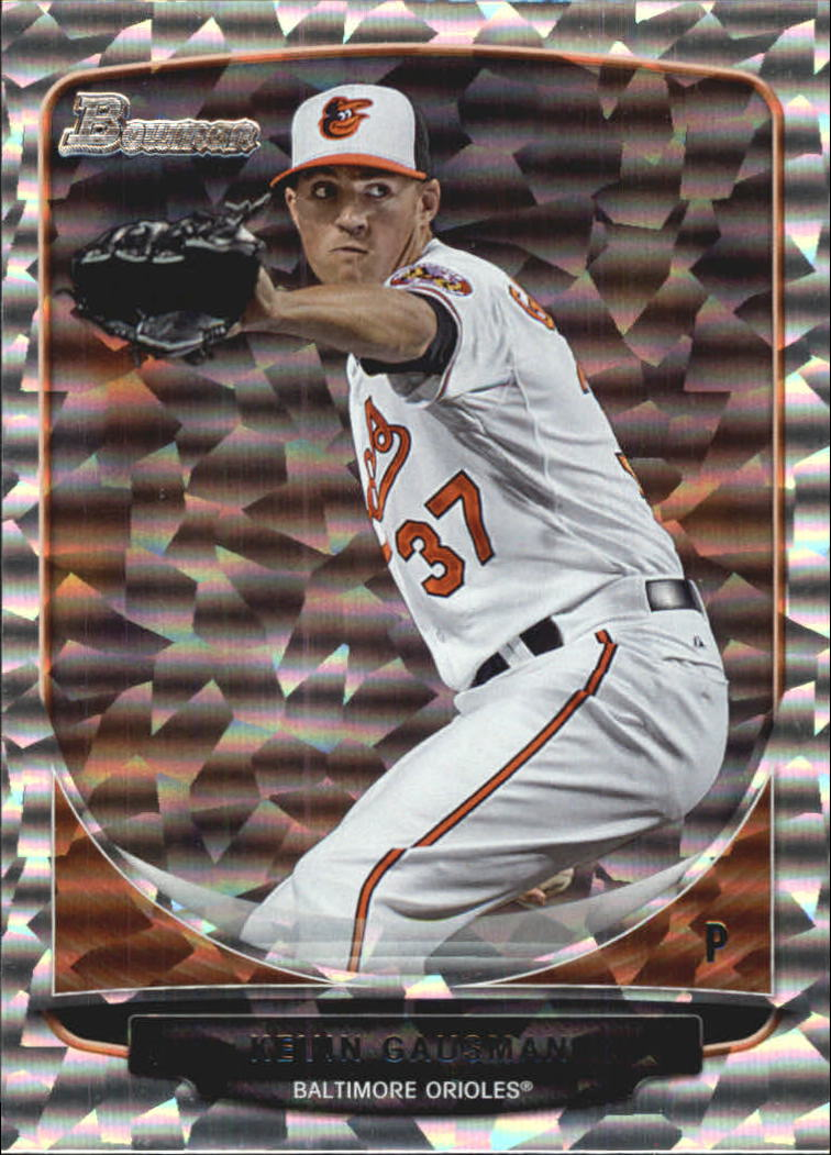 2013 Bowman Draft Top Prospects Silver Ice #TP8 Kevin Gausman