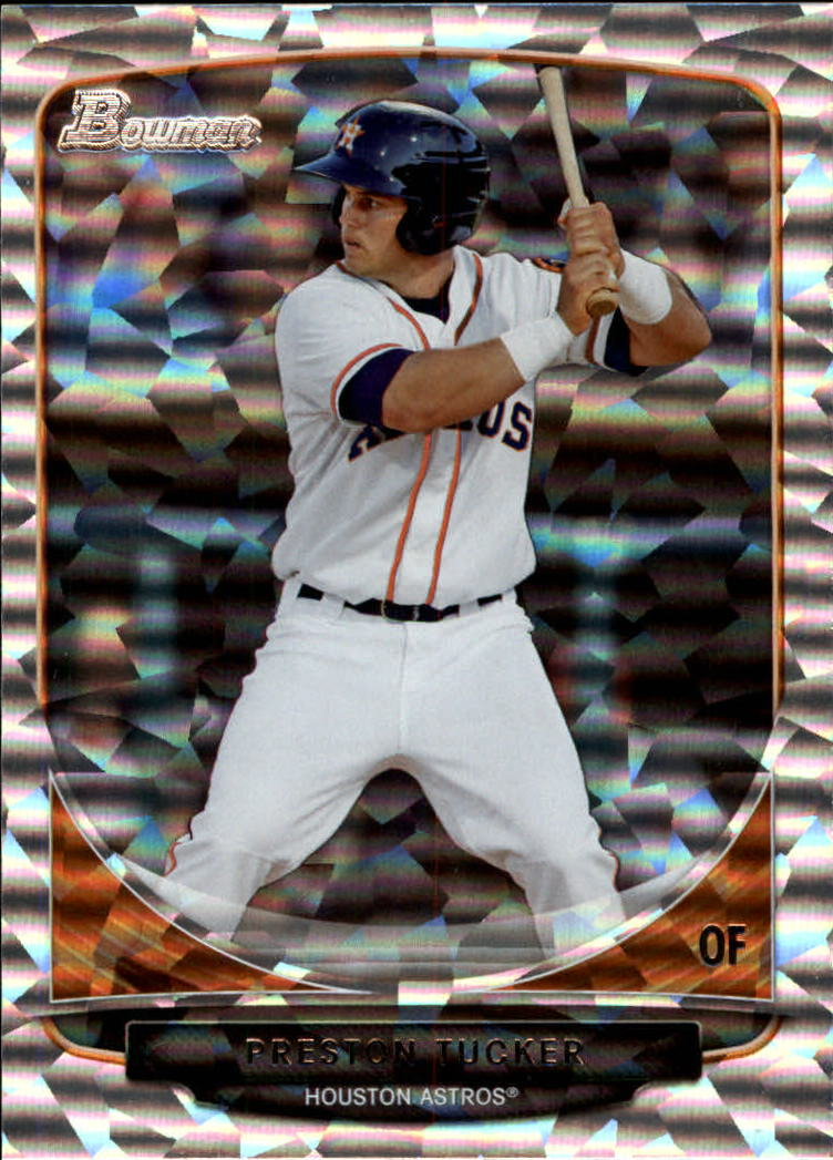 2013 Bowman Draft Top Prospects Silver Ice #TP11 Preston Tucker