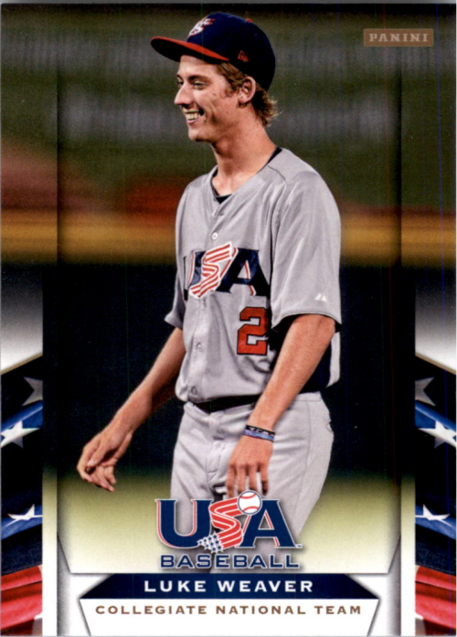 2013 USA Baseball #23 Luke Weaver